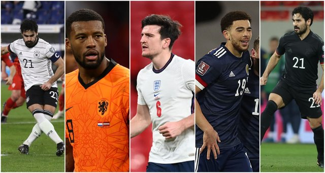 <p>There's some stylish offerings at this year's Euros, with the Netherlands and Germany wearing particularly great kit</p>
