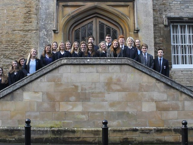 Oundle School. File picture.