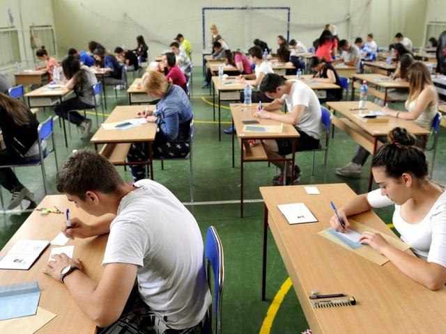 Exams weren't taken this year