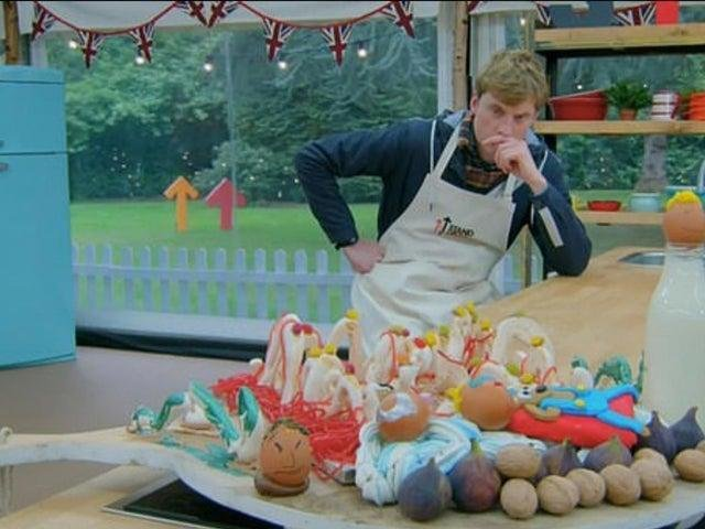 It's not the first time Kettering has been mentioned on the Bake Off