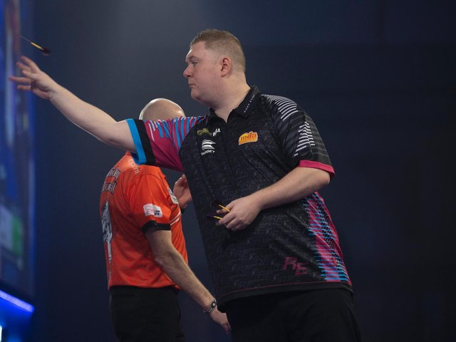 Kettering S Ricky Set For A Showdown With Michael Van Gerwen Northamptonshire Telegraph