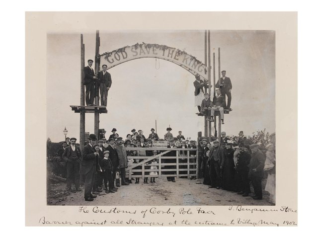 God Save The King! Corby Pole Fair 1902