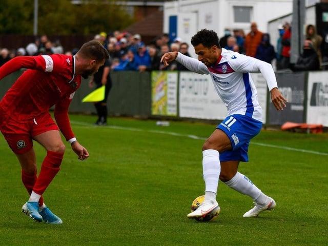 Luke Fairlamb in action for Diamonds against Barwell. Credit: HawkinsImages