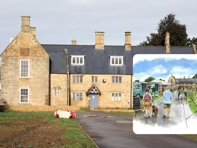 The 17th century farmhouse will house the cafe, B&B guests and conference rooms