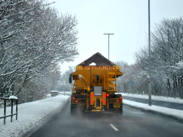Northamptonshire's fleet of gritters are out in force combating snow and ice