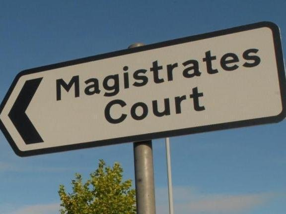 Magistrates fined the scooter rider for having no licence and no insurance