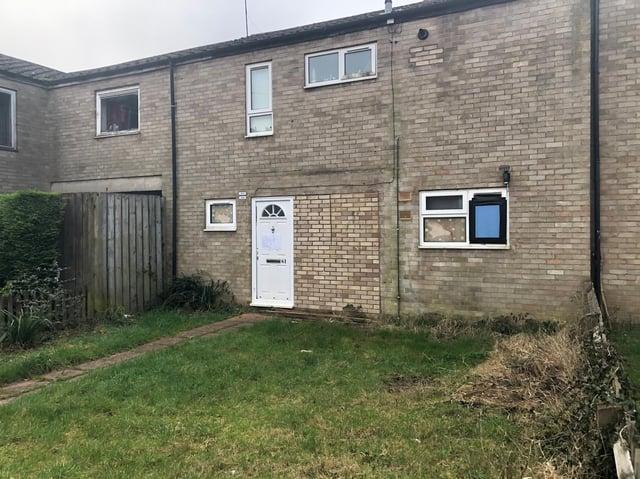 The house in Culross Walk. Image: JPI Media.