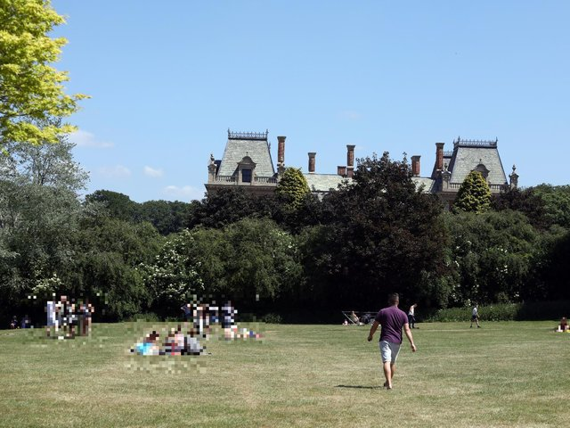 FILE PICTURE East Carlton Park - last year