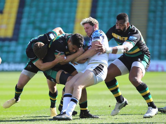 Saints overpowered Bath during the first period