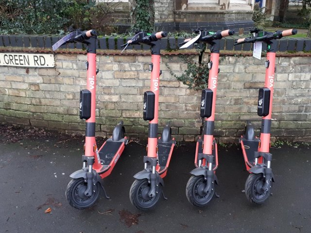 Voi e-scooters are available in Wellingborough, Higham Ferrers and Rushden