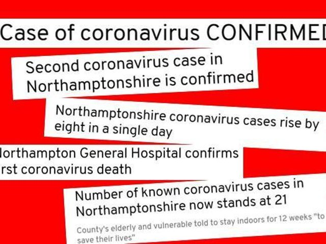 Our headlines follow the story of the first few days after Covid-19 first arrived in the county