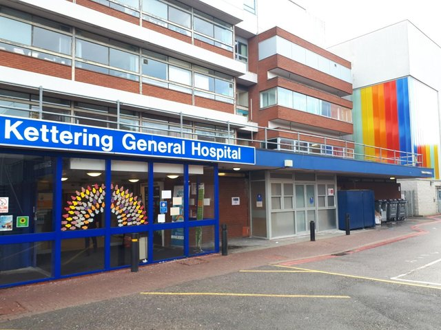 Kettering General Hospital in Rothwell Road