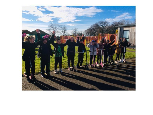 Kingswood Primary Academy pupils