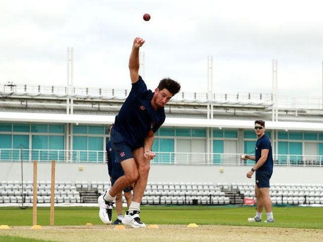 Northants Steelbacks fast bowler Brandon Glover will play for the Oval Invincibles in The Hundred later this summer