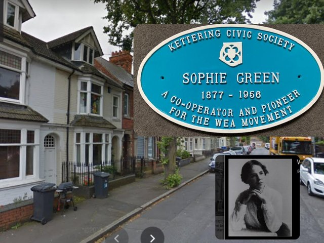 Sophie Green lived in St Peter's Avenue