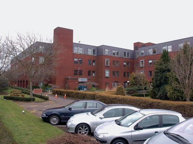 The Booker site in Irthlingborough Road, Wellingborough