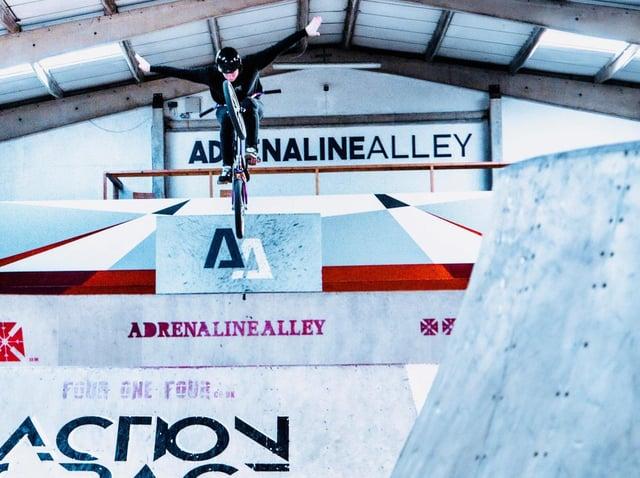 Team GB member Charlotte Worthington. Image: Adrenaline Alley.