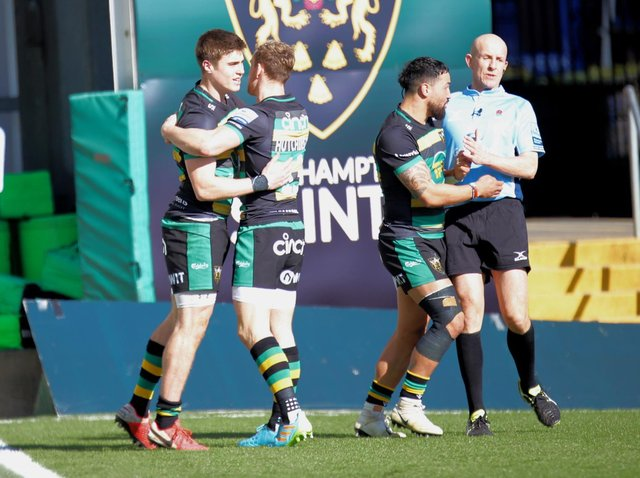 Tommy Freeman scored his first Saints try last weekend (picture: Peter Short)