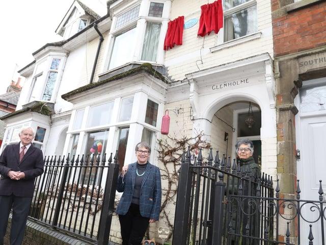 l-r Paul Ansell, Keli Watts and Marta Mayhew (Board of Directors - Centre England Co-operative)