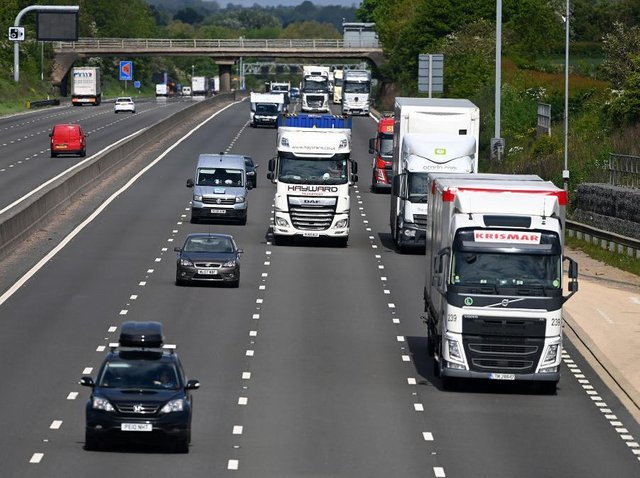 A stretch of the M1 between Northampton and junction 19 has already been turned into a smart motorway way with no hard shoulder. Photo: Getty Images