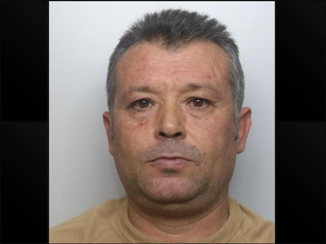 Drug dealer Ziso Berouka was jailed for five years by a judge at Northampton Crown Court. Photo: Northamptonshire Police