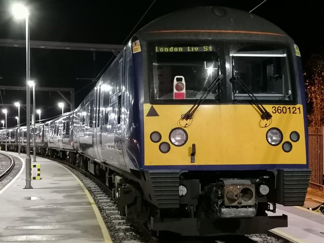 Refurbished electric trains will be stopping at Wellingborough station from May 16. Photo: Jonathan Wall /  @lsodp
