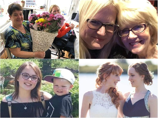 Readers sent in photographs and touching messages to honour their mums for Mother's Day.
