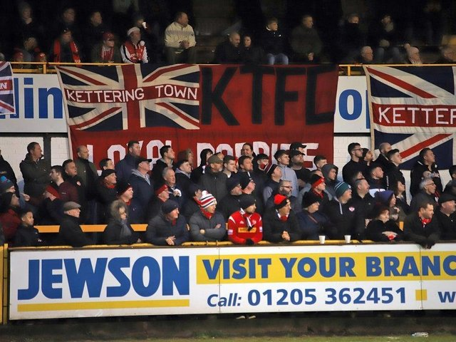 Poppies fans are looking forward to a return to Kettering.