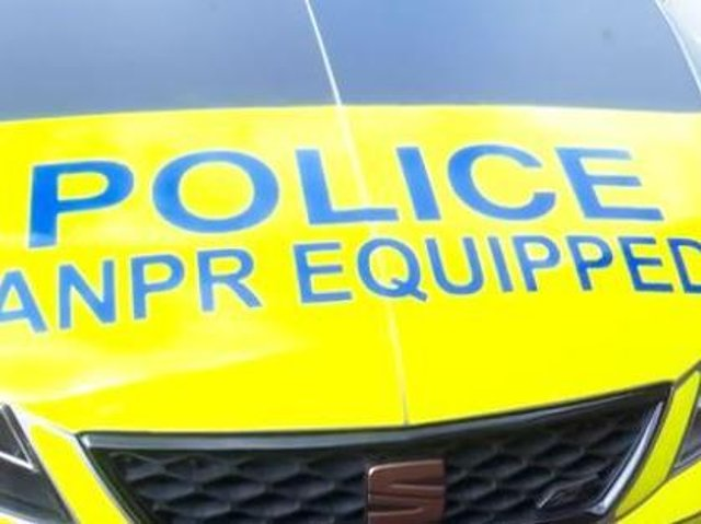Police vehicles are equipped with high-tech number plate recognition,cameras