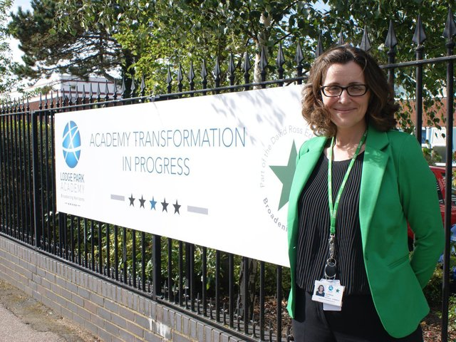 Carly Waterman, who is leading Lodge Park's transformation. Image: JPI Media.