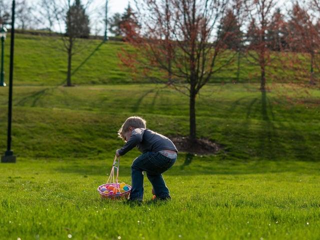 Children can embark on a digital easter egg hunt through the 'Explore Northampton'  app.