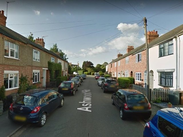 A man was seen acting suspiciously in Ashwood Road on multiple occasions last week.
