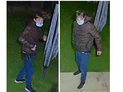 Police want to speak to this man about a shed burglary in Rushden