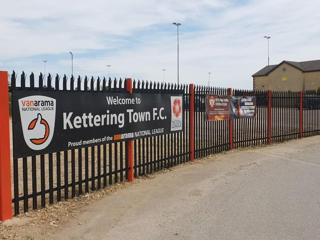 Kettering Town are currently based at Latimer Park in Burton Latimer but are looking to return to their hometown