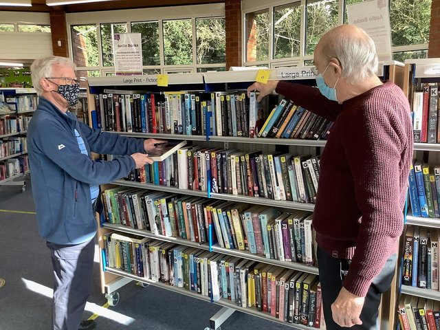 Raunds Library has benefited from the scheme