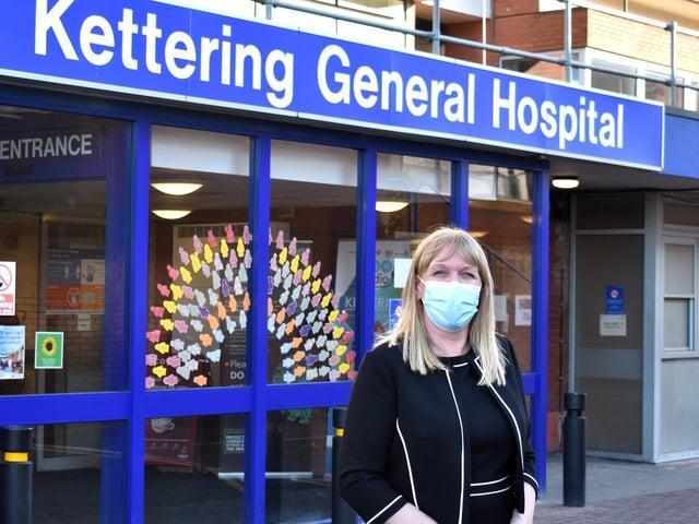 Kettering General Hospital Chief Executive Deborah Needham