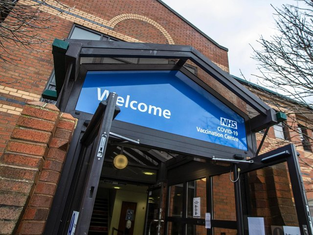 Northamptonshire's vaccination centre at Moulton Park