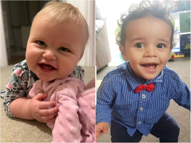 Our readers sent in pictures of their lockdown babies, who will soon be turning one.