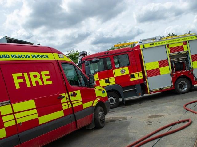 Five fire crews battled a 3am blaze in a house in Far Cotton
