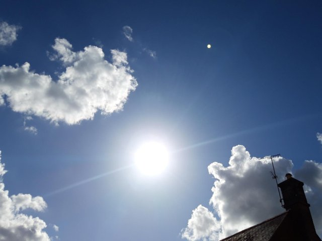 Forecasters are saying temperatures could rise into the 20s in Northamptonshire next week