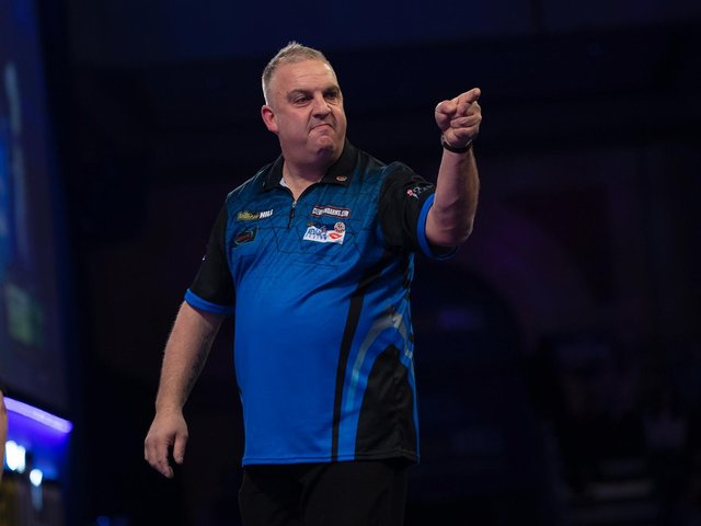 James Richardson. Picture courtesy of PDC