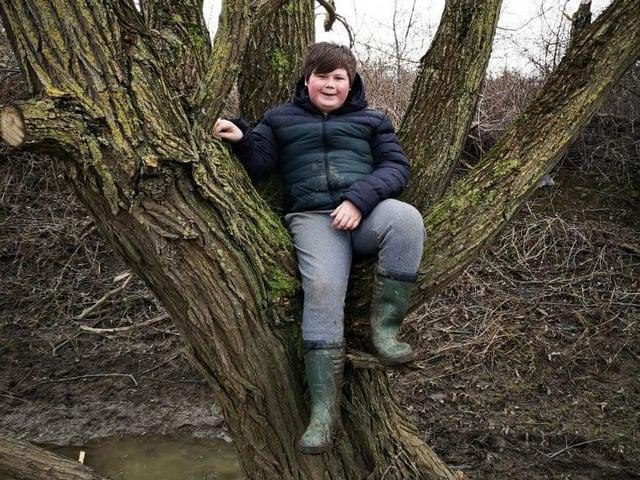 Harrison Hart, 11, of Wellingborough