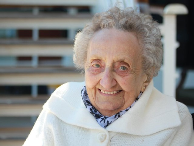 Jill Linsley - 100 years old today (March 31, 2021)