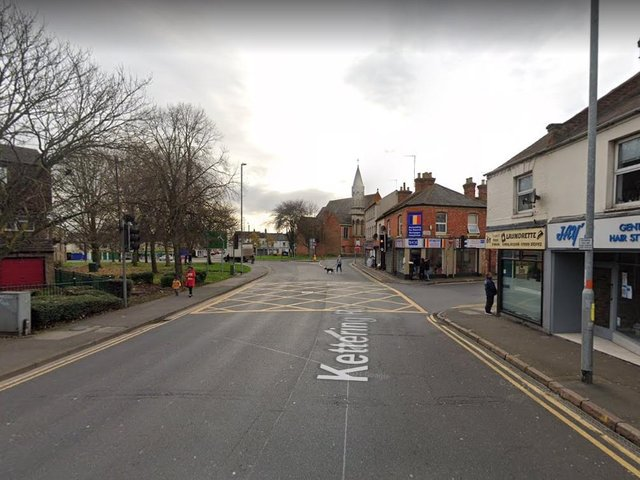 A young woman was followed and sexually harassed on Kettering Road.