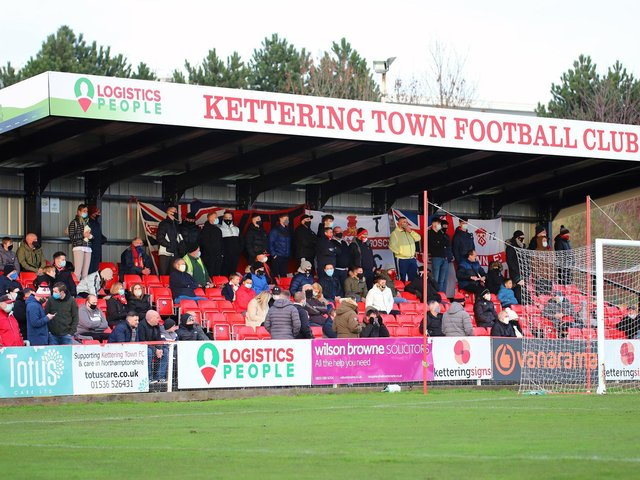 The Kettering Town (Poppies) Supporters Trust have launched a 'New Home Fund'. Picture by Peter Short