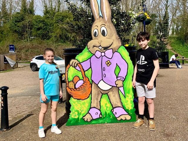 Rushden's Easter bunny hunt