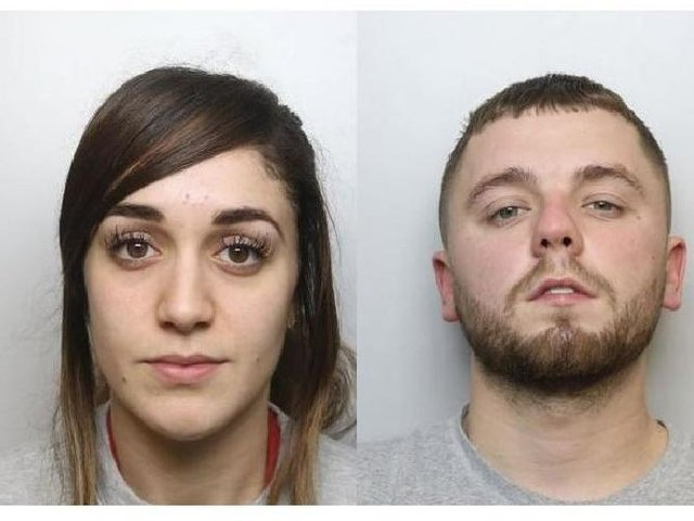 Soraya Parsi and Terrence Brown hatched a plan to target an elderly man who they knew would be collecting £38,000 from a Northampton bank.