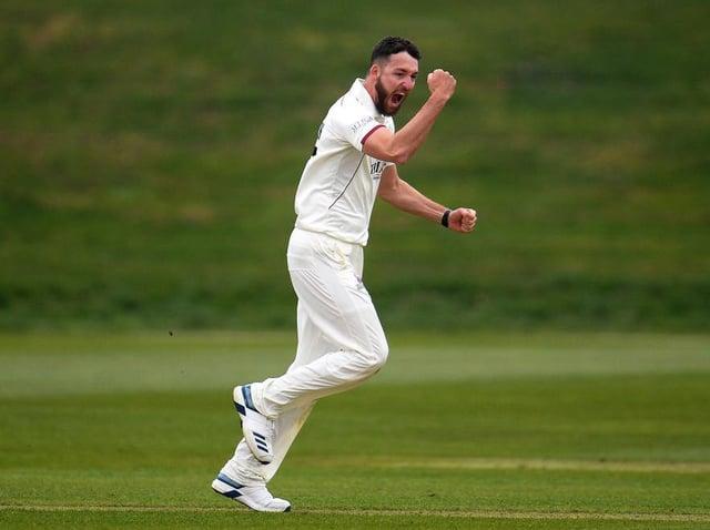 Paul van Meekeren in action for Somerset in 2019