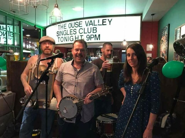 The Ouse Valley Singles Club are among the acts who will be playing at The Music Barn Festival in July.