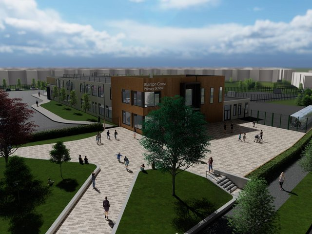 How the school will look.
